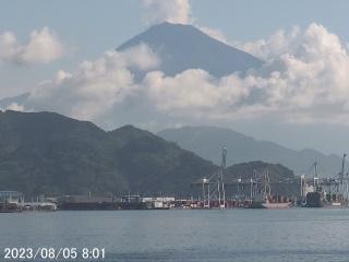 Shizuoka webcam - Shimizu Port webcam, Chubu, Shizuoka